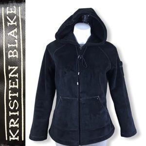 KRISTEN BLAKE Soft Plush Hooded Jacket
